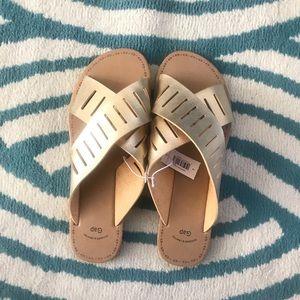 Gap gold sandals